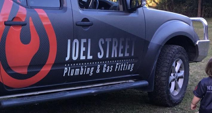 Joel Street Plumbing Logo