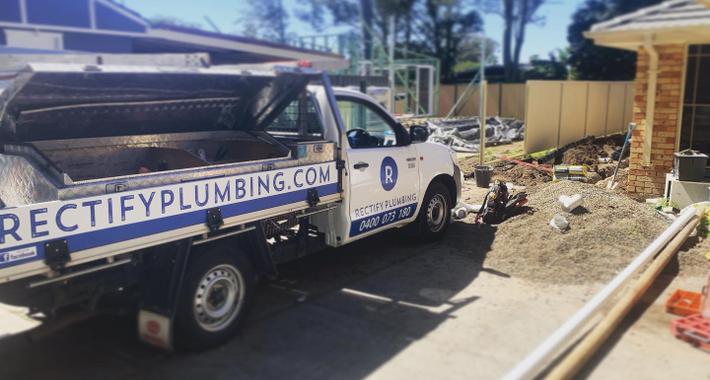 Rectify Plumbing Logo