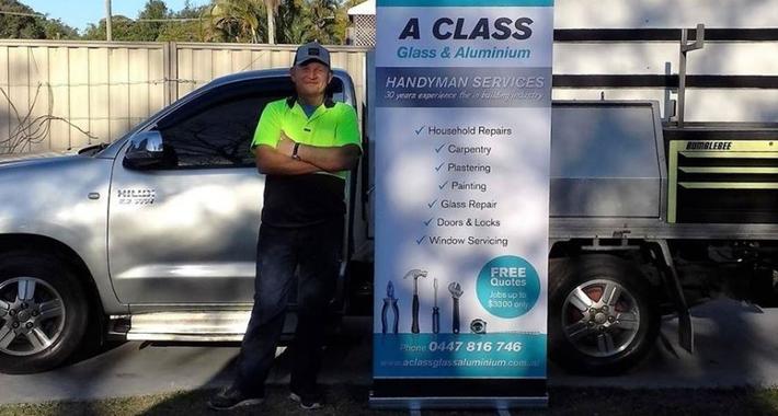 A Class Glass Aluminium Services Logo