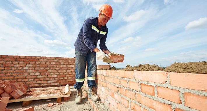 Andrew Trainor Bricklaying Logo