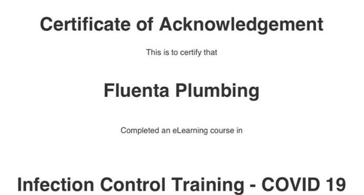 Fluenta Plumbing PTY LTD Logo