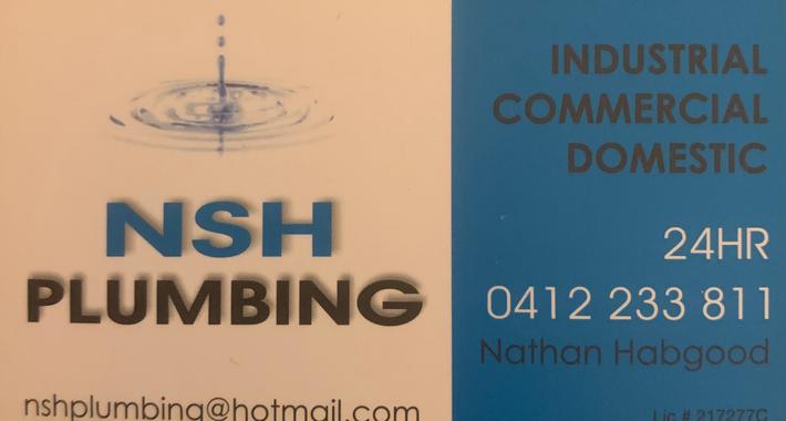 NSH Plumbing Logo