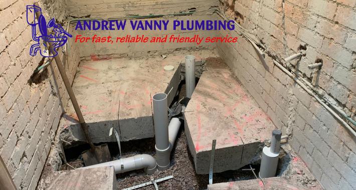 Andrew Vanny Plumbing Logo