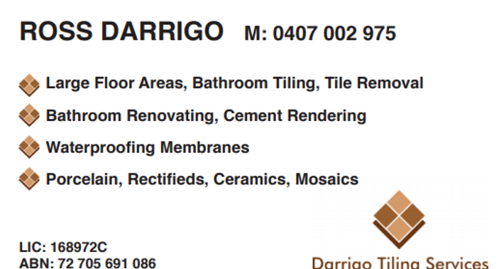 Darrigo Tiling Services Logo