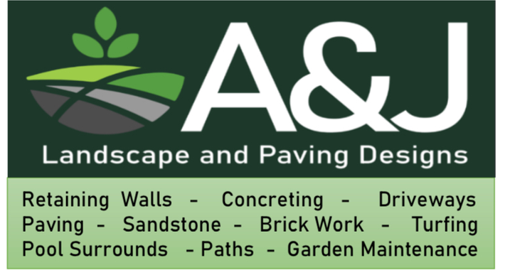 A&J Landscape and Paving Designs Logo