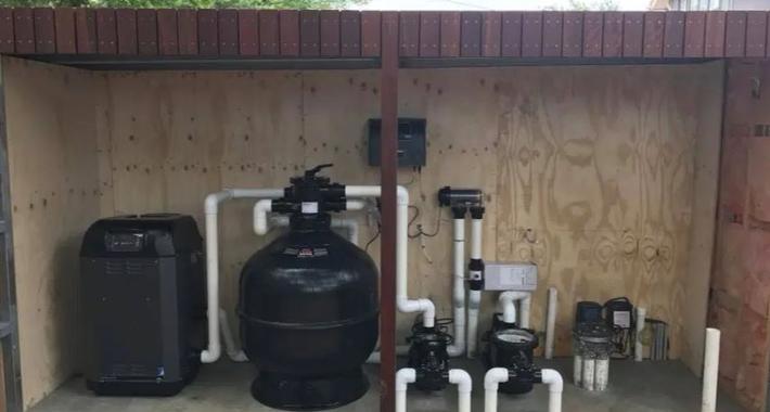 Pool EHP Equipment Heating and Plumbing Logo