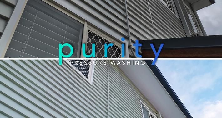 Purity Pressure Washing Logo