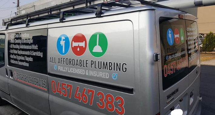 All Affordable Plumbing Logo