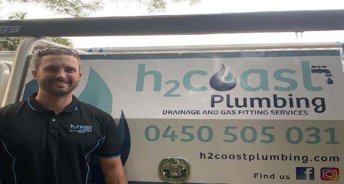 H2Coast Plumbing Logo