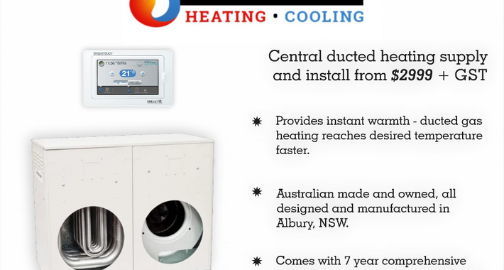 Too Hot To Handle Heating and Cooling Logo