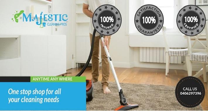 Majestic Cleaning Pros Pty Ltd Logo