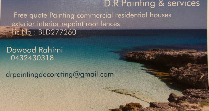 DR Painting and Services Logo