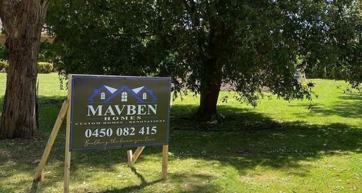 Mavben Homes Pty Ltd Logo