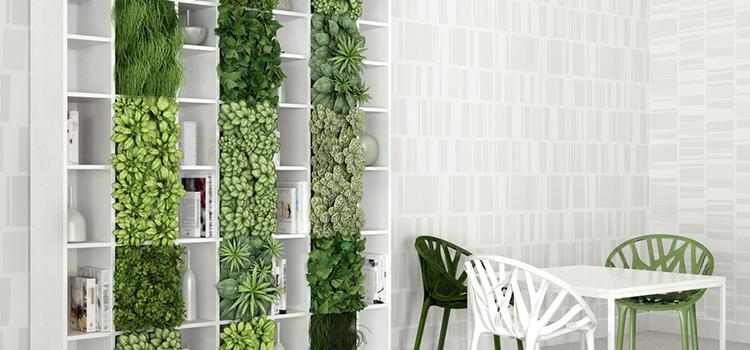 Vertical Gardens Succulents Herbs