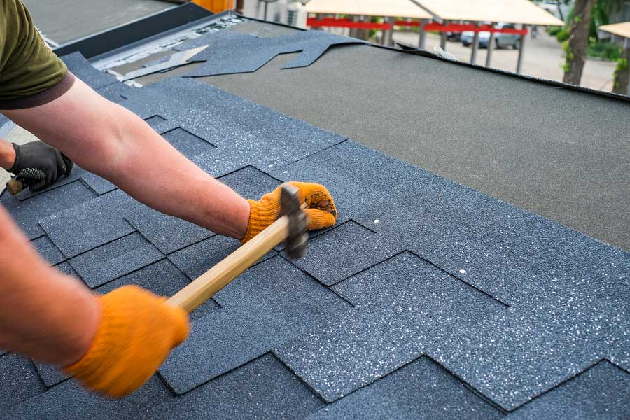 Roof shingle repairs and replace