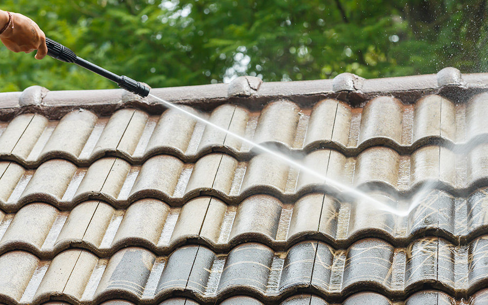Fixing a leaking roof