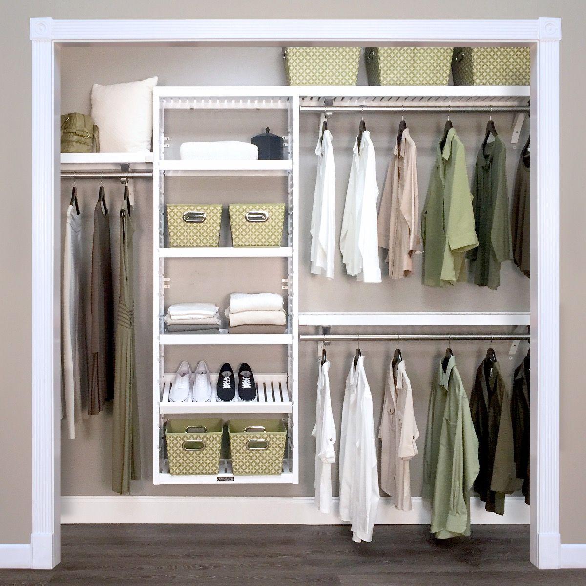 Installing a good closet organzer