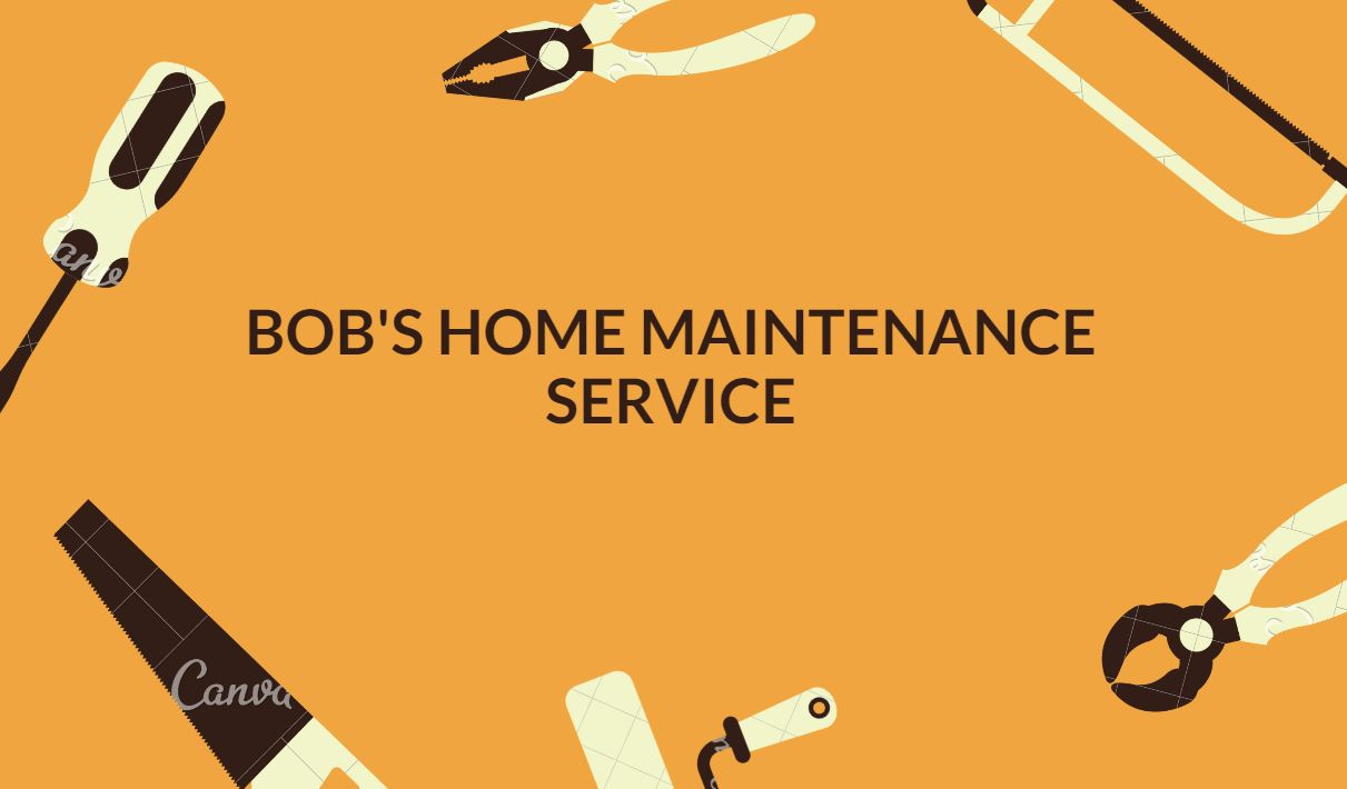 Bob's Home Maintenance Service