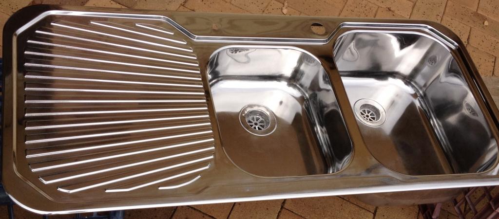 polished sink