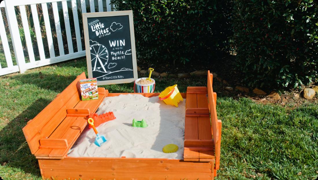 Sandbox for kids