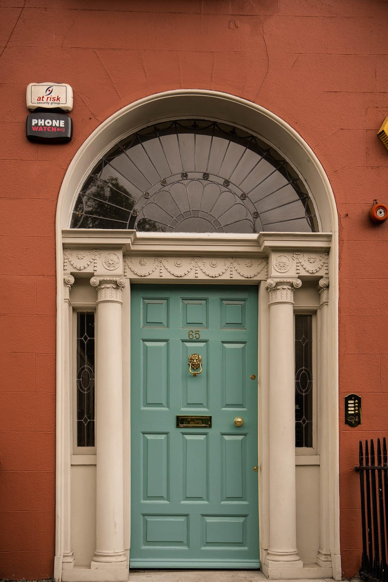 Grand front door