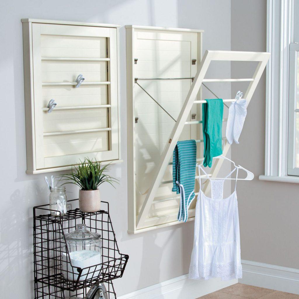 Space saving drying racks
