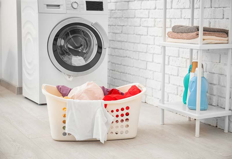 Cleaning laundry room without chemicals