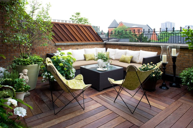 Creative ideas for balcony