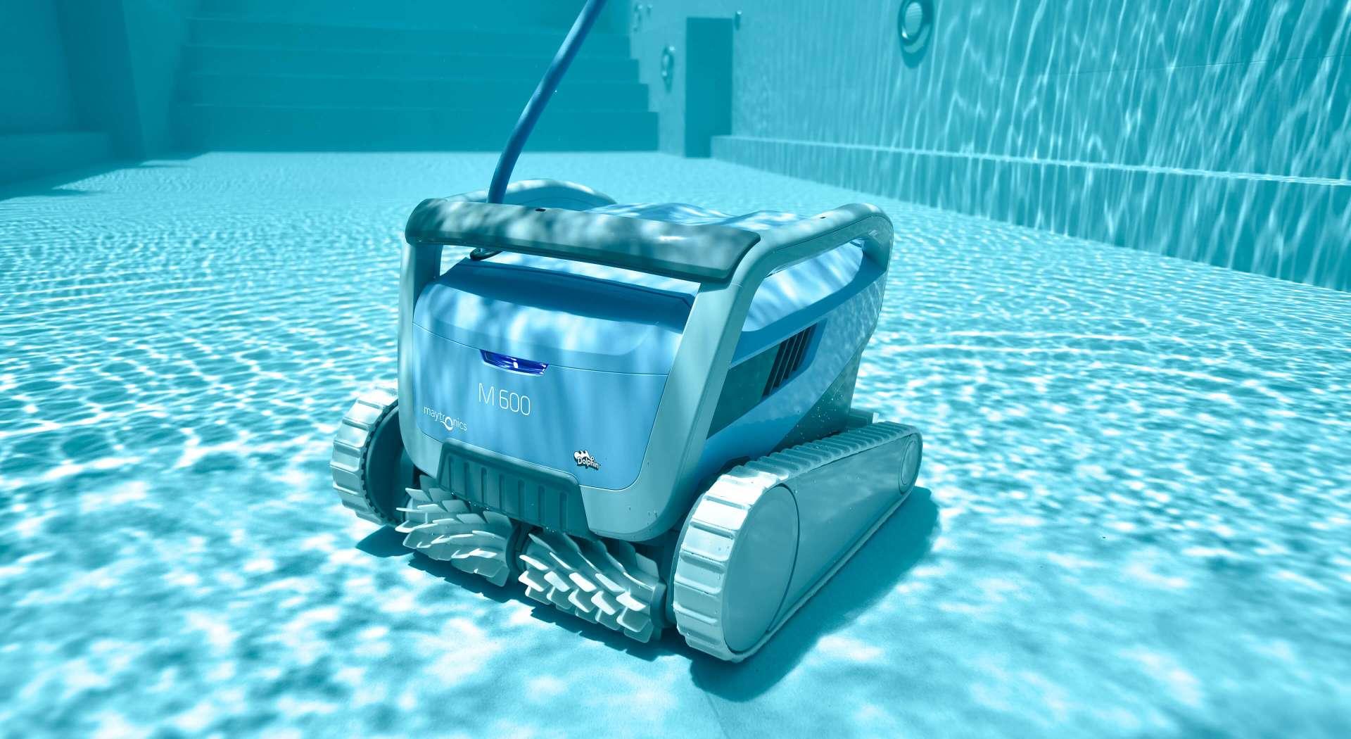Robot vacuum pool cleaner
