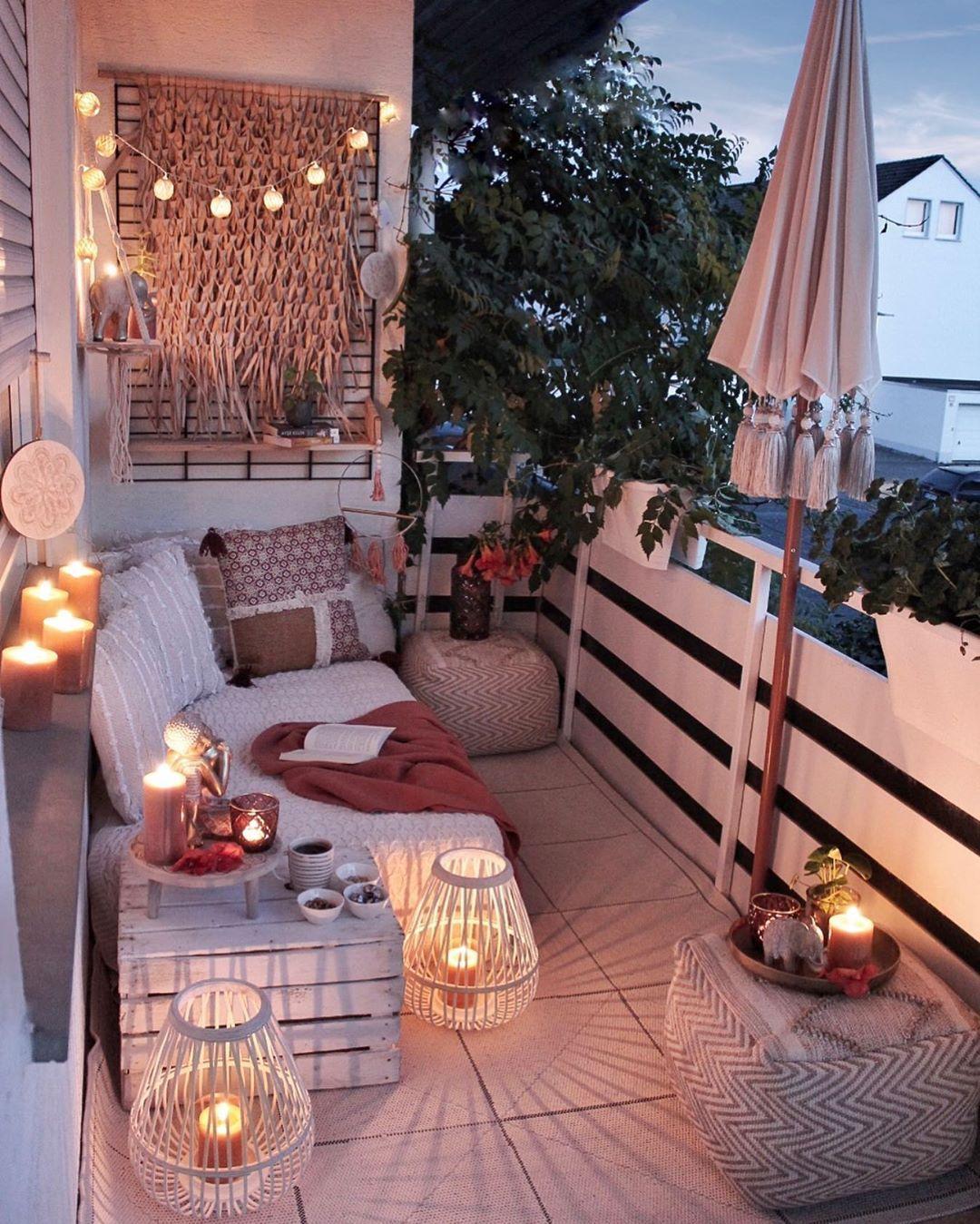 fairy lights for balcony