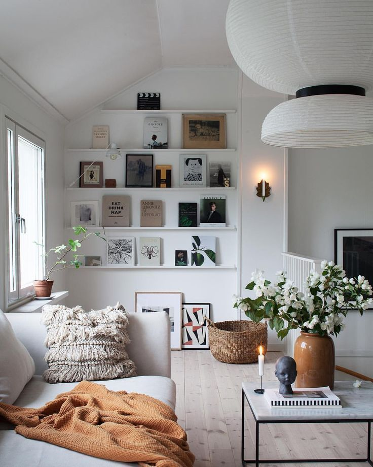 Minimal home decor with clothes