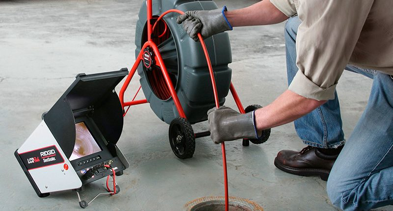 plumber drain cleaning