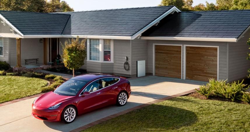 Tesla Solar Glass roof