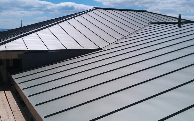 metal steel and aluminium roof