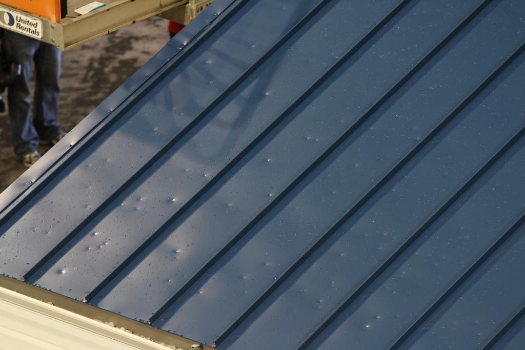 Hail roof repair