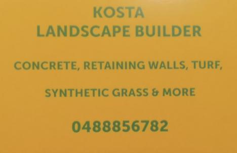Kosta Dingo & Landscape Builder